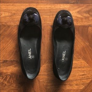 Chanel Ballet Flats with Signature Camilla Flower